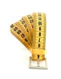 slimming метра пояса Стоковая Фотография RF