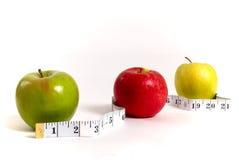 slimming яблок Стоковые Изображения