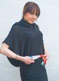 slimming девушки успешный Стоковая Фотография RF