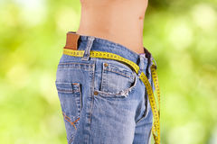 Slimming diet Stock Image