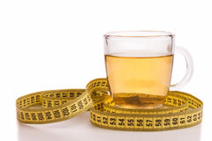 Slimming tea Stock Image