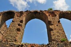Slimnic中世纪堡垒 免版税库存图片