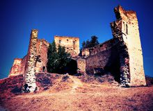 Slimnic castle Royalty Free Stock Photography
