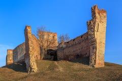The Slimnic fortress. Transylvania, Romania Stock Photo
