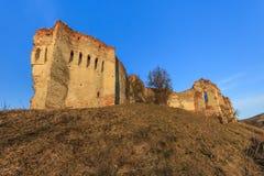 The Slimnic fortress. Transylvania, Romania Royalty Free Stock Photography
