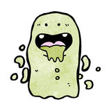 Slimy cartoon ghost Royalty Free Stock Photos