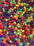 Slimy!. THERE ARE ORBEEZ EVERYWHERE Stock Images