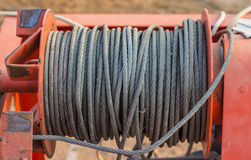 Sling cable texture background Stock Photo