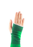 Sling hand Royalty Free Stock Image