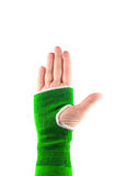 Sling hand Stock Photography