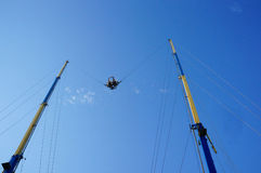 Sling shot attraction Royalty Free Stock Images