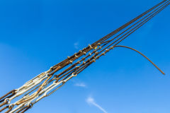Sling with wooden sticks Stock Photos