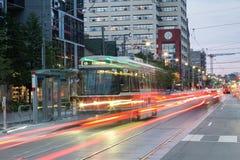 Slinga för ljus för Toronto gatabil arkivfoton