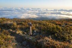 Slinga i molnen Fotografering för Bildbyråer