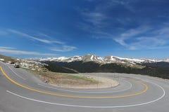Slinga Ridge Road, USA royaltyfria foton