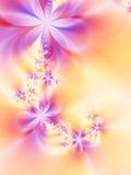 Slinger van bloemen Stock Foto