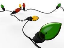Slinger van gekleurd licht Stock Foto