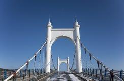 Slingerbrug Stock Afbeeldingen