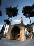 Slingerende minaretten Stock Foto's