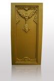 De gouden slingers van de gipspleister. Royalty-vrije Stock Foto