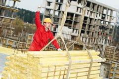 Slinging builer with framework Royalty Free Stock Image