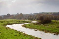 slingra flod arkivbilder