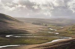 Slingra flod Royaltyfri Bild