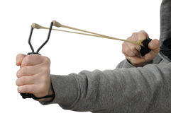 Slingshot Royalty Free Stock Photography