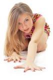 Slink weg vom Mädchen Stockfotografie