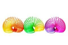 Slinkies Royalty Free Stock Photos