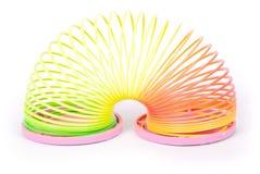 Slinky весна Стоковые Изображения