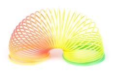 Slinky весна Стоковая Фотография RF