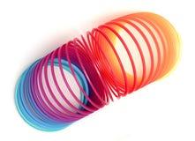 slinky игрушка весны стоковое фото rf