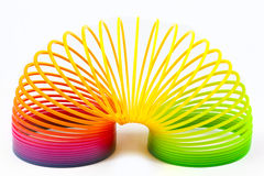 Slinky игрушка Стоковые Фотографии RF