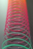 slinky игрушка Стоковое Изображение RF