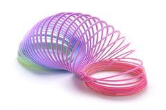 Slinky Royalty Free Stock Images