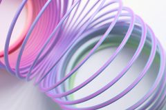 Slinky royalty free stock photo