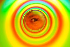 Slinky eye Stock Images