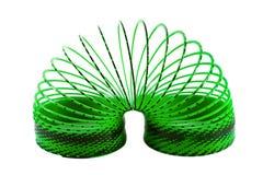 Slinky isolated on white Royalty Free Stock Image