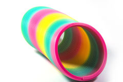 Slinky. Original Slinky is truly an American classic toy Stock Images