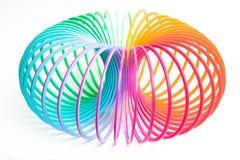 Slinky spring toy Royalty Free Stock Photos