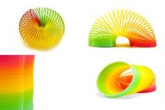 Slinky toy Stock Photography