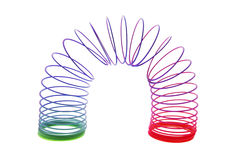 Slinky Toy Royalty Free Stock Photos