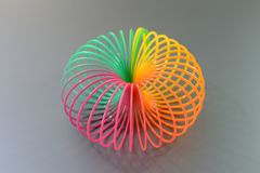 Slinky Toy Stock Photo