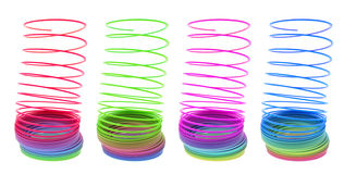 Slinky Toys Royalty Free Stock Images