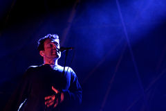 Slint (American rock band) in concert at Heineken Primavera Sound 2014 Festival Royalty Free Stock Image