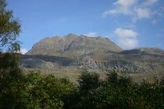 Slioch at Loch Maree. Slioch looks imposing over Loch Maree Stock Images