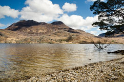 Slioch and Loch Maree Royalty Free Stock Images