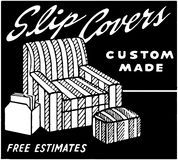 Slip Covers Stock Photography