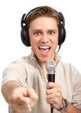 Slip definitivo di karaoke Fotografie Stock